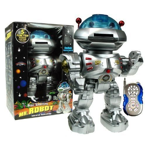 Westminster Mr Robot Remote Disc Shooting Robot