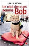 Un chat des rues nommé Bob
