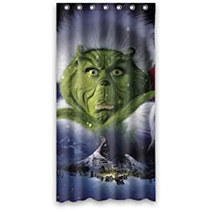 The Grinch Waterproof Polyester Fabric Shower Curtain 36 By 72 Home Amp Kitchen