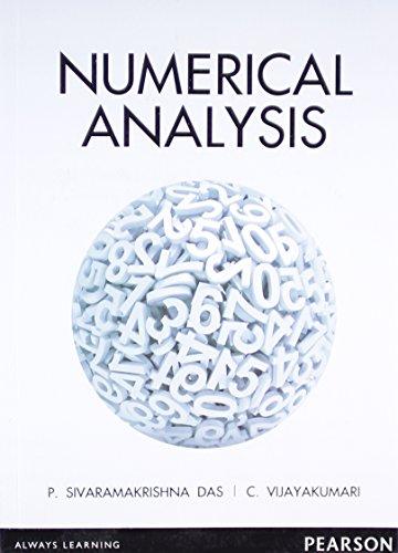 Numerical Analysis, 1e