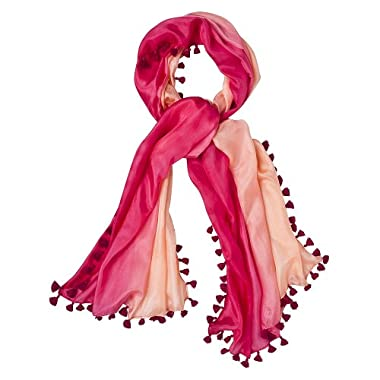 Product Image CALYPSO St. Barth for Target® Dip Dye Scarf With Tassle - Pink