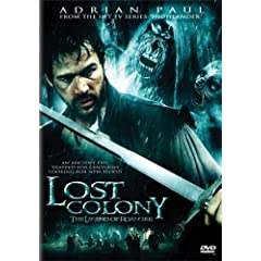 Lost Colony cover art, featuring the Hottie