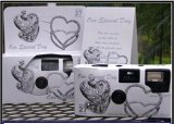 5-Pack-Antique-Silver-Hearts-Wedding-Disposable-35mm-Cameras-in-Gift-Boxes-with-Matching-Tents-27-Exp