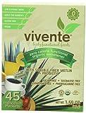 Vivente Zero Calorie Organic Sweetener with Fiber and Probiotics, 45 Count