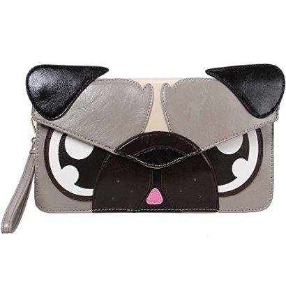 BMC-Colorful-Faux-Leather-Animal-Face-Thin-Envelope-Style-Fashion-Clutch-Handbag