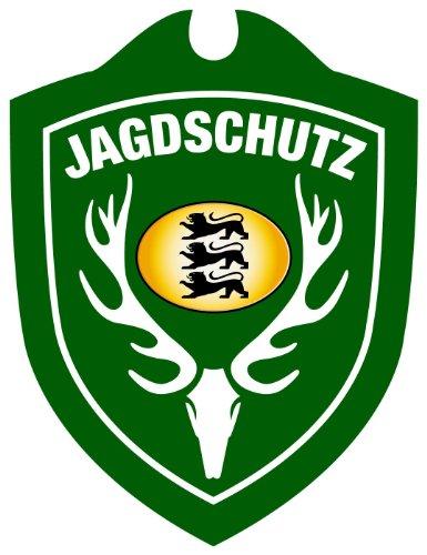 Autoschild Jagdschutz Baden-Württemberg