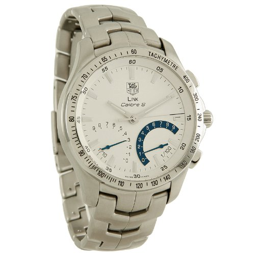 TAG Heuer Men's CJF7111.BA0587 Link Calibre S Chronograph Watch