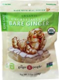 Organic Uncrystallized Bare Ginger from the Ginger People , 3.5-Ounce bags (Pack of 3)