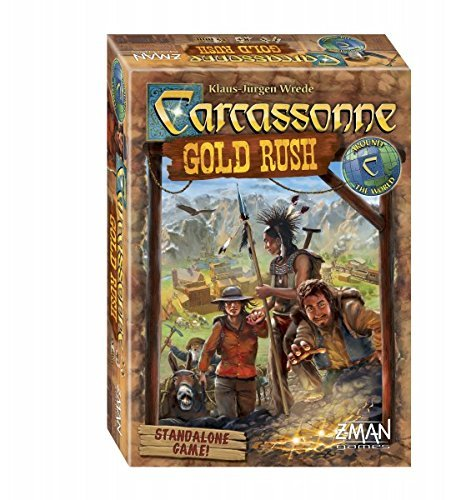 carcassonne gold rush review