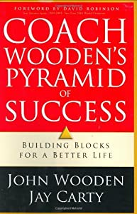"""Cover of """"Coach Wooden's Pyramid of Succe..."""
