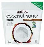 Nutiva Organic Sugar, Coconut, 1 lb, 3 Count