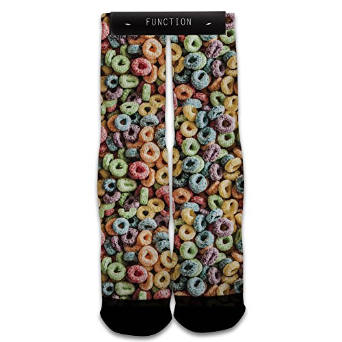 Function - Loopy Fruits Sublimated Sock