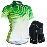 Nuckily Women's Cycling Sports Jersey Shorts Sleeve Ladies Short Sleeve Special Cycling Jersey
