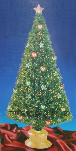 Fibre Optic Christmas Tree With Baubles.My Best Christmas Shop For Christmas Tree Gifts Just