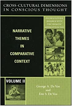 Cross-Cultural Dimensions in Conscious Thought: Narrative ...