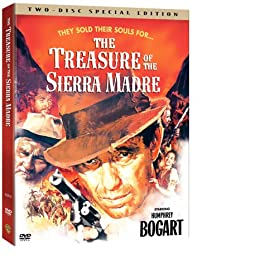 """Cover of """"The Treasure of the Sierra Madr..."""