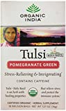 Organic India Tulsi Tea, Pomegranate Green, 18 Count