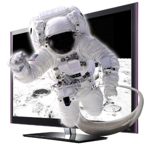 LG 42LW5590 107 cm (42 Zoll) Cinema 3D LED-Backlight-Fernseher, Energieeffizienzklasse B  (Full-HD, 600 Hz MCI, DVB-T/C, CI+, Smart TV, DLNA) schwarz