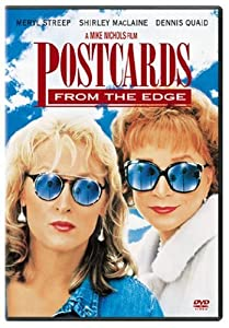 """Cover of """"Postcards from the Edge"""""""