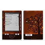 Tree Of Books Design Protective Decal Skin Sticker for Sony Digital Reader Pocket PRS 300