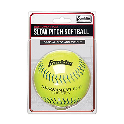 Franklin Sports Tournament Play Slow Pitch Softball, 12.0 ...