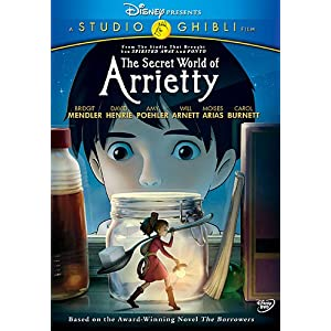 The Secret World of Arietty Cover