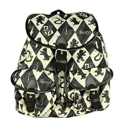 Harry Potter Diamond Houses Slouch Backpack