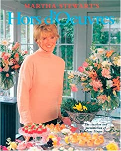 "Cover of ""Martha Stewart's Hors d'Oeuvres..."