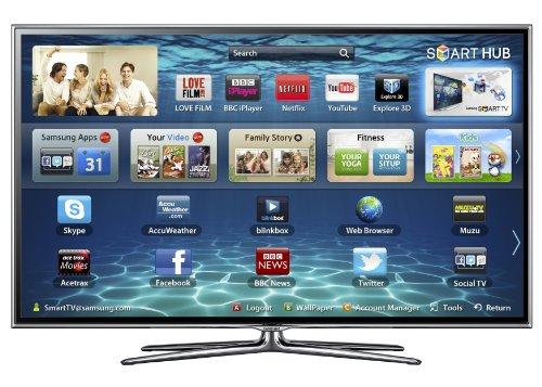 Samsung UE55ES6800 3D LED-TV FullHD HbbTV 2x 3D Brillen