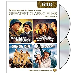 TCM Greatest Classic Film Collection: War (Battle of the Bulge / The Dawn Patrol / Gunga Din / Operation Pacific)