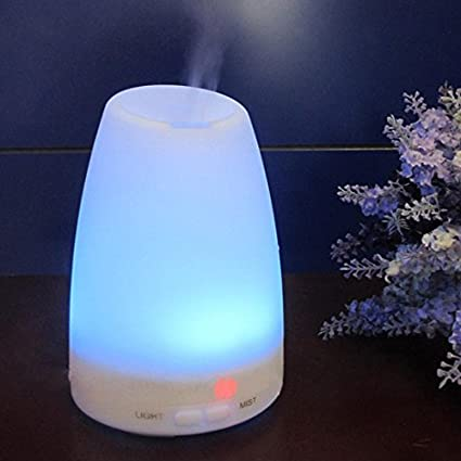 Aroma Diffuser, Amir® 120ml Colorful Ultrasonic Humidifier Aroma Diffuser / Aromatherapy Essential oil Diffuser Cool Mist Humidifier for Home, Yoga, Office, Spa, Bedroom, Baby Room