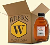 16oz (Case of 6) - Orange Blossom Honey - Pure, Raw, Unfiltered, Unheated