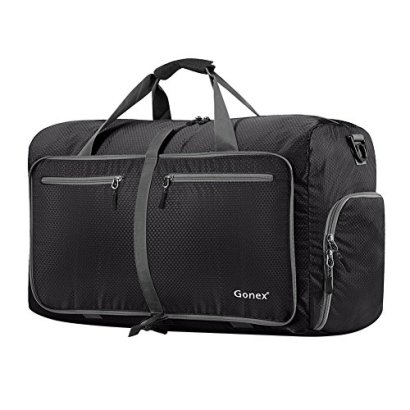 Gonex-60L-Foldable-Travel-Duffel-Bag-for-Luggage-Gym-Sport-Camping-Storage-Shopping-Water-Tear-Resistant-Black