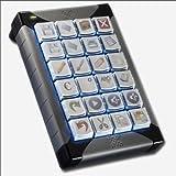 X-keys プログラマブル24キー(USB対応) XK-24-USB-R