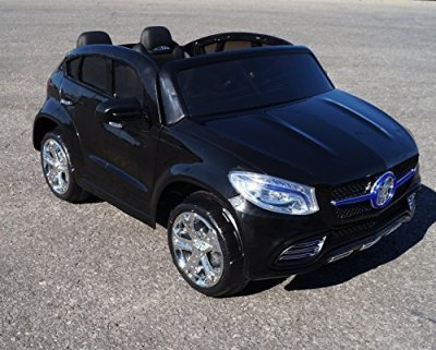 MERCEDES-ML-STYLE-SUV-RIDE-ON-TOY-CAR-RC-24VOLTS-BATTERY-OPERATED-2-SEATER-BLACK