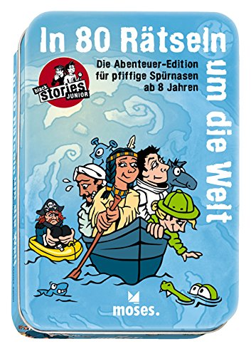 moses. 108382 - Kartenspiel - black stories Junior - Abenteuer Edition