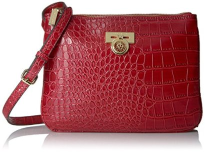 Anne-Klein-Total-Look-Small-Cross-Body-Cherry