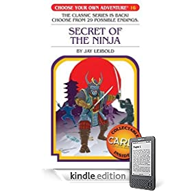 Choose your own adventure ninja cover
