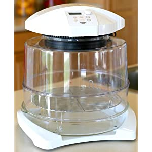 Moringware HO1200M-WR Infrared Halogen Oven with Extender Ring