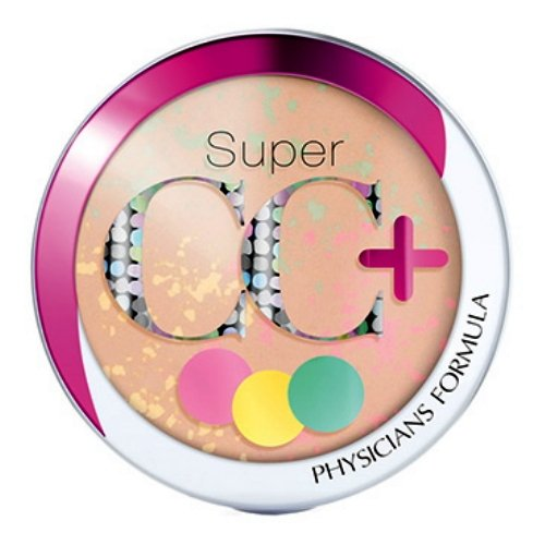 Physicians Formula Super CC+ Color-Correction + Care CC+ Powder SPF 30, Light/Medium