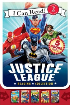 Justice League Reading Collection (I Can Read Book 2) by Various| wearewordnerds.com