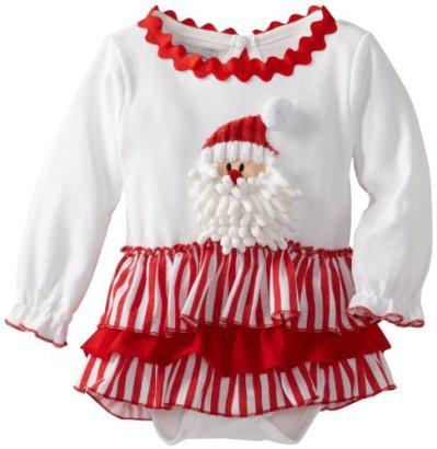 Mud-Pie-Baby-Girls-Santa-All-In-One-Dress