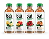 Bai Supertea Variety Pack, 5 Calories, No Artificial Sweeteners, 1g Sugar, Antioxidant Infused Beverage(pack of 12)