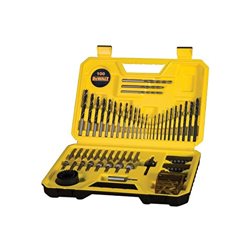 51y5C%2BcA3qL - BEST BUY #1 DeWalt DT71563-QZ Combination Drill Bit Set 100 Pieces