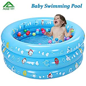 Marine Cartoon Childrens Swimming Pool Toddler Ocean Ball Game Pools Baby