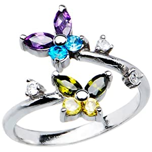 Butterfly ring under $25