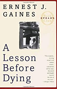 "Cover of ""A Lesson Before Dying (Oprah's ..."