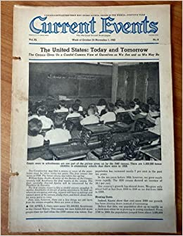 Current Events October 28-November 1, 1940 The United ...