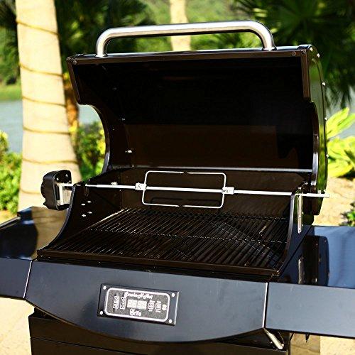 Smoke-N-Hot Pro Pellet Grill Rotisserie Kit Review ...