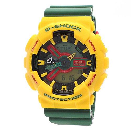[カシオ]Gショック G-SHOCK CASIO メンズ 腕時計 アナデジ ラスタファリアン GA-110RF-9ADR[逆輸入]